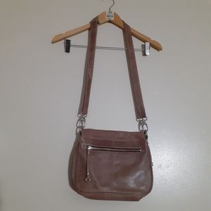 100%REAL LEATHER EVERYDAY CROSSBODY BAG by LATICO